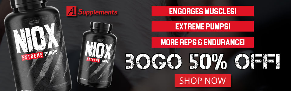 Buy 1 Nutrex Research Niox - 120 Capsules, Get 1 50% OFF!