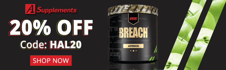 Get Recon1 Breach - 30 Servings 20% OFF With Code HAL20!