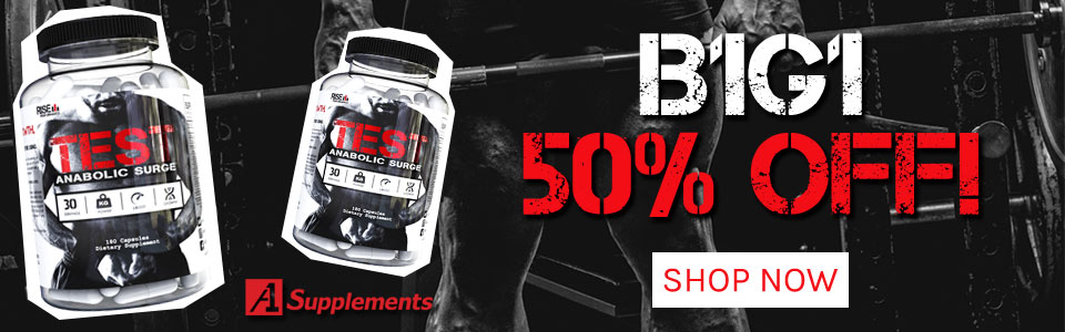 Buy 1 Rise Performance Test - 180 Capsules, Get 1 50% OFF!