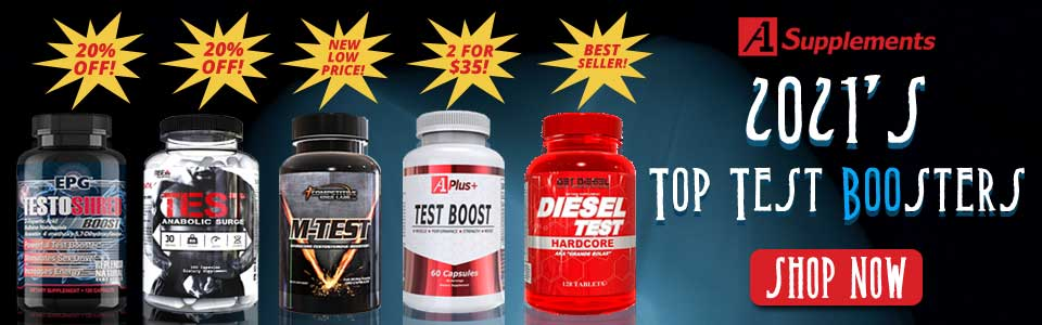 2021's Top Testosterone Boosters, Shop NOw!