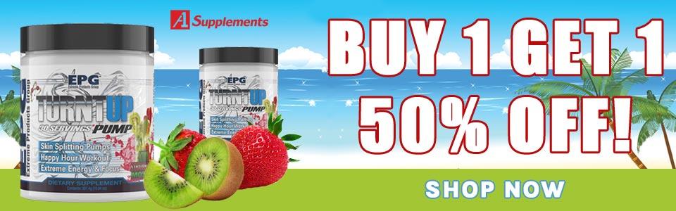 Buy 1 EPG Turnt Up - 30 Servings, Get 1 50% OFF!