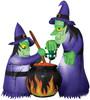 Airblown Double Witch Cauldron