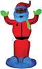 Airblown Neon Animated Santa D