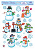 Snowman/snowflake Clings