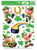 Leprechaun Shamrock Clings