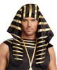 Headpiece Pharaoh Blk/gld