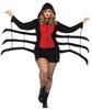 Women's Black Widow Spider Costume 2XL