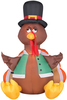 Airblown Outdoor Happy Turkey