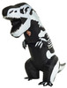 Skeleton T-Rex Inflatable Adult Costume