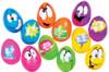 Easter Comic Eggs Pk Of 6