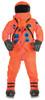 Astronaut Dlx Suit Teen Orange