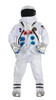 Deluxe Astronaut Suit White - 2XL