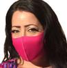 Fuchsia Social Distancing Mask