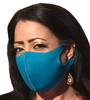 Teal Social Distancing Mask