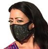 Rhinestone Infinity Face Mask