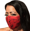Red Roses Face Mask