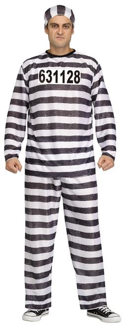 Convict Costume Std