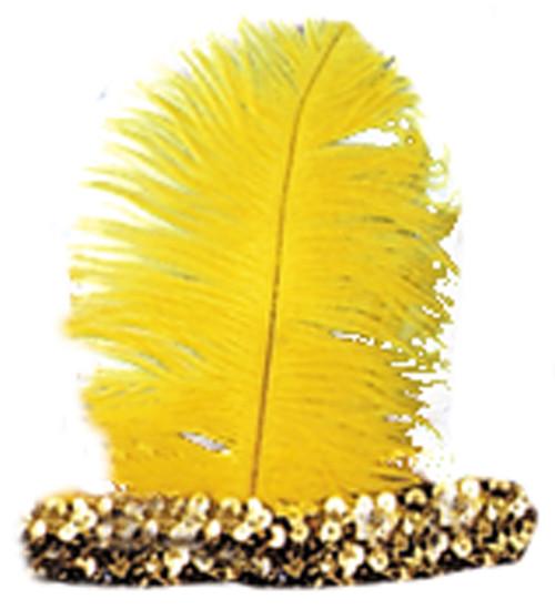 20s Headband Gold
