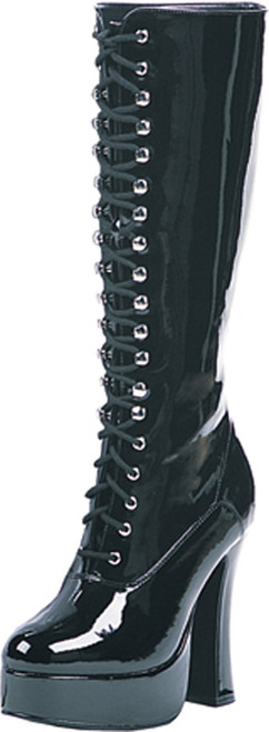 Boot Easy Lace Blk Sz 8