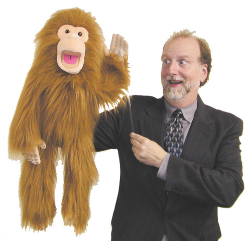 Puppet Charlie The Chimp 28in