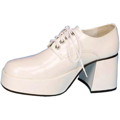 Shoe Platform Wht Pat Men Md