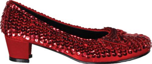Shoe Sequin Rd Child Sm