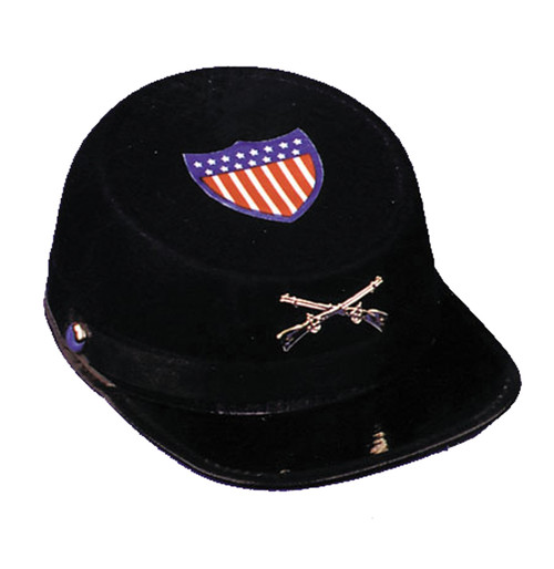 Civil War Cap Econo Blu Med