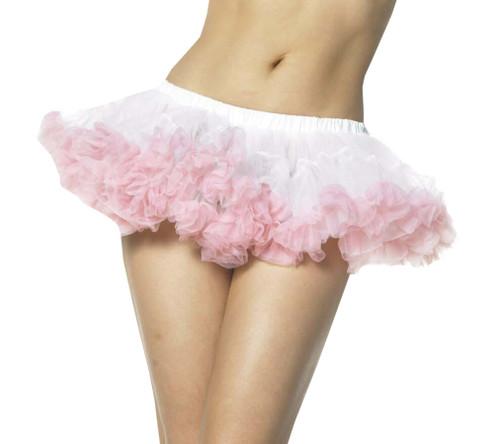 Petticoat Mini Chiffon Wt/pk