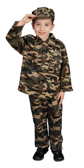 Army Toddler 3 To 4