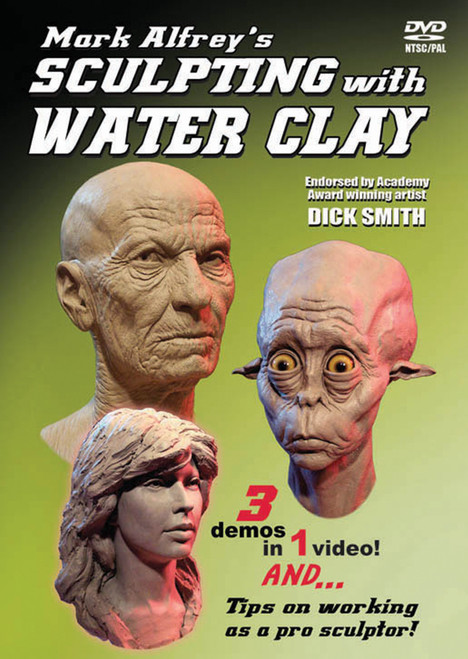 Dvd Sculpting With Water Clay