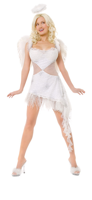Playboy Hefs Sexy Angel Costume