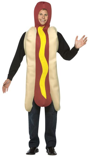 Hot Dog Costume Adult