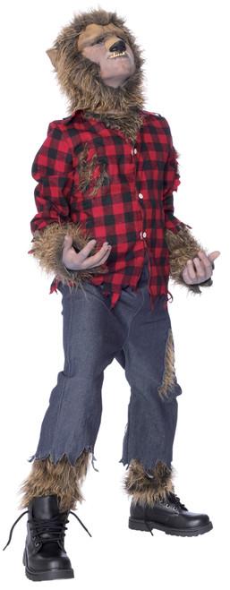 Wolfman Child Costume Med 8-10