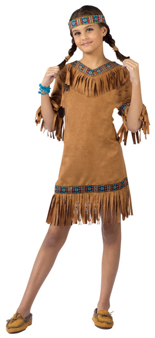 American Indian Girl Child Sm