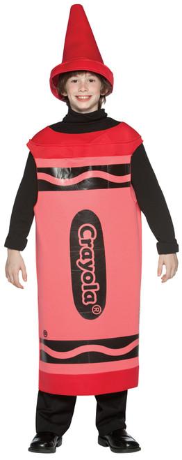 Crayola Cost Red Tween 10-12