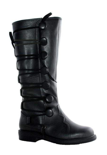 Boots Ren Mens Bk Sz 8-9