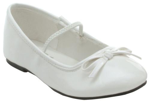 Shoes Ballet Flat Wt Sz 9-10
