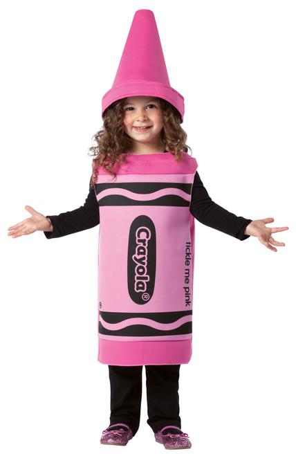 Crayola Tickle Me Pink 3-4t