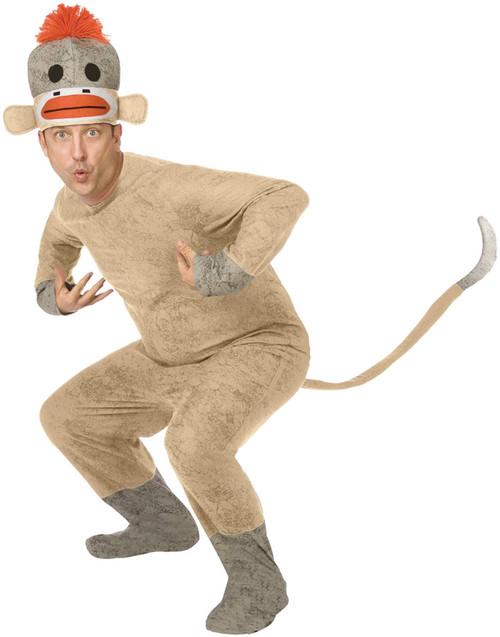 Sock Monkey Adult