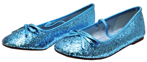 Flat Ballet Glitter Ch Bu Smal