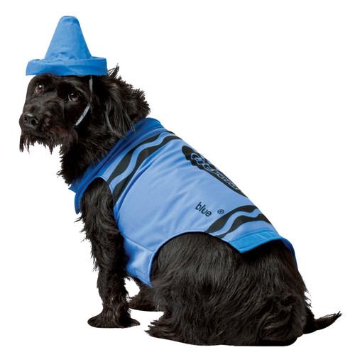 Pet Costume Crayola Blue