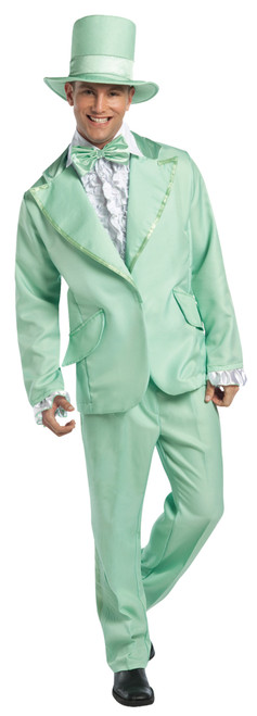 70s Funky Tuxedo Pastel Green