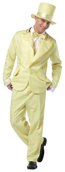 70s Funky Tuxedo Pastel Yellow