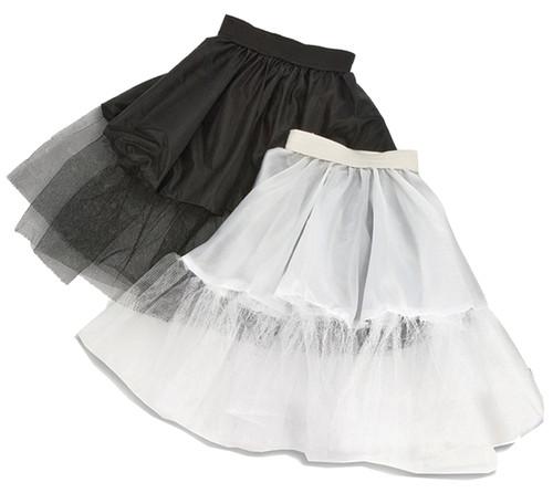 Petticoat Black Adult 21 Inch