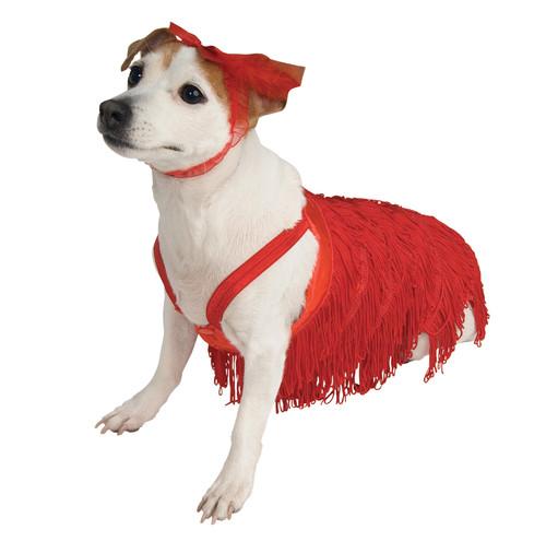 Pet Costume Flapper Small