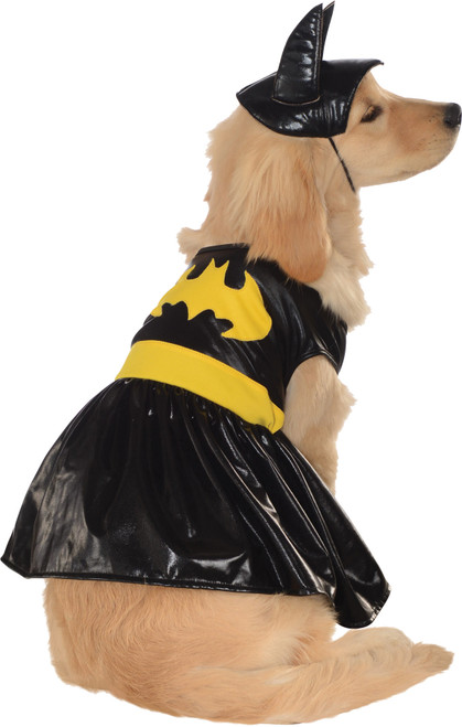Pet Costume Batgirl Xlarge