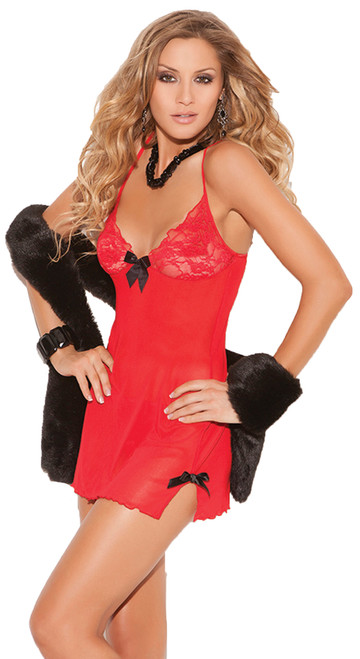 Chemise Red Large