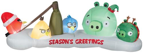 Airblown Angry Birds Scene