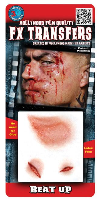 Beat Up 3d Tattoo