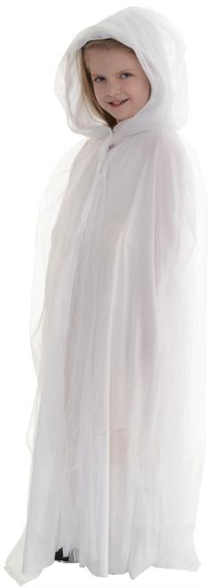 Cape Tulle Child White